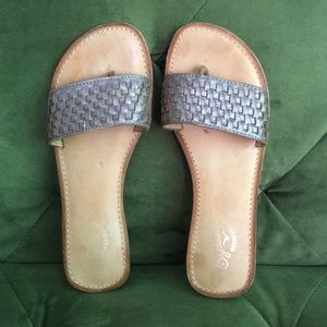 Seychelles Brown Leather Sandals | 7